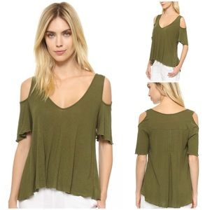 Bittersweet Cold Shoulder Top